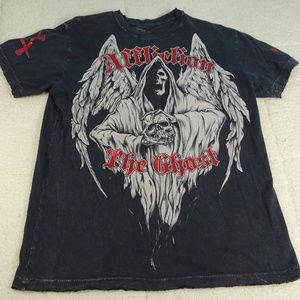 Affliction The Ghost Signature Series Black Medium